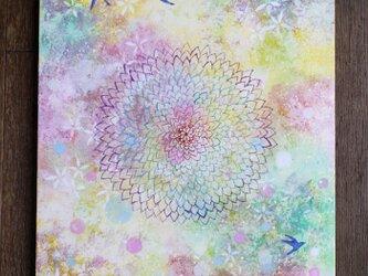 絵画「光咲く」の画像