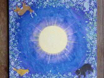 絵画「光を灯す」の画像