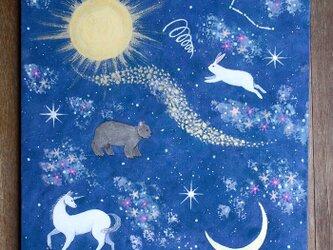 絵画「天空の地図」の画像