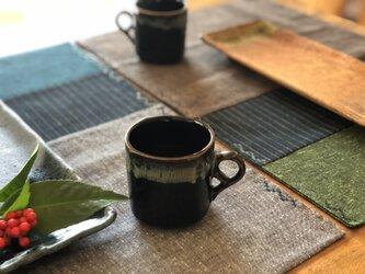 遠州綿紬リバーシブルランチョンマットの画像