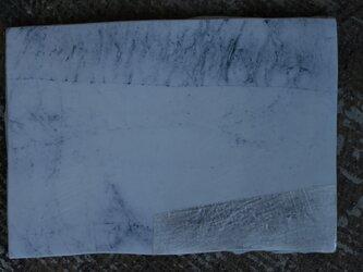 和紙染め板皿 小 角 4の画像