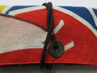 送料無料 五月旗で作った和風財布・ポーチ 4014の画像