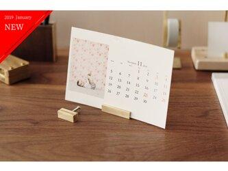 【送料無料】真鍮のカードスタンド 2個セット No15の画像