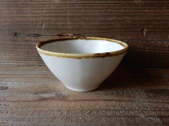 小サイズ めし碗ボウル (白マット)  の画像