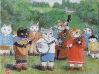 ねこの音楽隊の画像