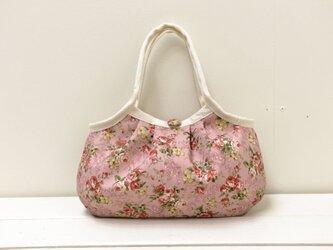 小さめグラニーバッグ「Lungi Pink」の画像