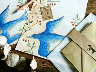 レターセット  青い鳥の画像