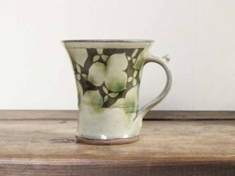 エンレイソウの二彩マグカップ(ブーベリー)の画像