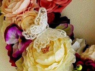 レースの蝶(リースご購入時のオプション)の画像