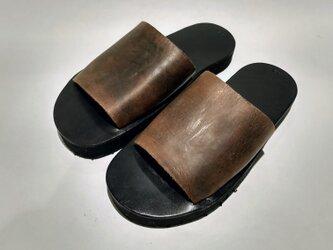 HC sandal 厚底の画像