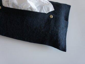 Tissueboxcover / blackの画像