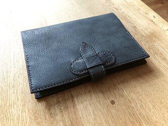 B6サイズの手帳カバー(イタリアンレザー)の画像