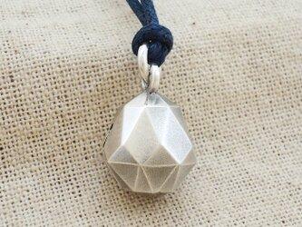 鈴『五十六面体・ドロップ型』銀製(シルバー925)の画像