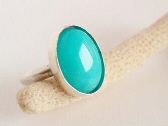 ペルー産 アマゾナイト Silver Ring の画像