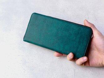 【期間限定 おまけ付き】ラウンドファスナー型長財布の画像