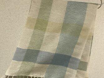 手織りストール W10の画像