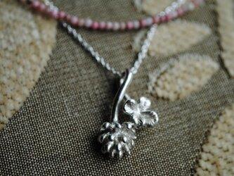 《セット》しろつめ草の花&四つ葉のネックレスの画像