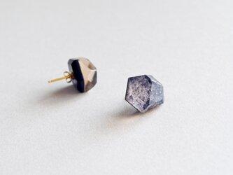 space pierced earrings < pink >の画像