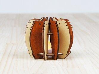 「いのしし」木製ミニランプの画像