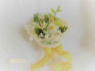 プリザーブドフラワーの花束の画像
