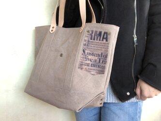宅急便送料無料☆army duc basic tote bag M+ glay beigeの画像