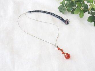 Blood Orange Pendant(カーネリアン)の画像