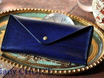 革の宝石ルガトー・長財布2(紺)の画像