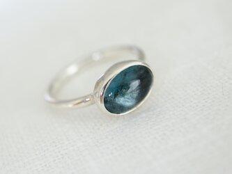 13号 人魚のモスアクアマリン ringの画像