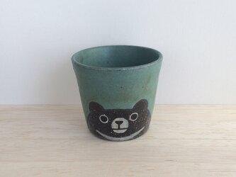 ツキノワグマのフリーカップの画像