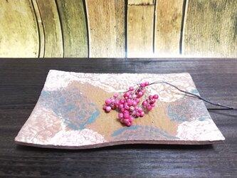 レース板皿の画像