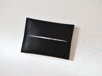 ポケットティッシュケース  [nappa/bk]の画像