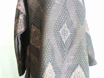 着物リメイク チュニックブラウス 3030の画像