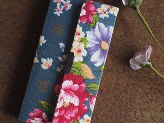★台湾花布★手帳型スマホケース(全機種対応)№4【受注製作】の画像