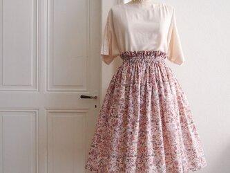 Liberty :waild flowers チュチュみたいなギャザースカートの画像