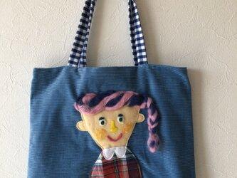 女の子かばんの画像