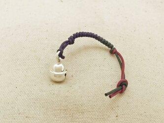 銀製の鈴 『 本坪型・小 』 (シルバー925) 根付・帯飾りの画像
