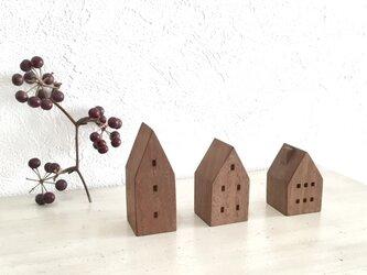 小さな木の家 ーヨーロッパの街並9ーの画像