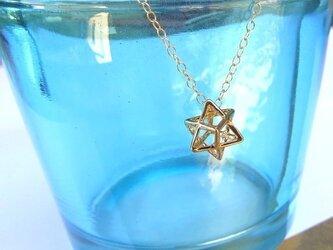 メルカバ キラキラ星(小)ネックレスの画像