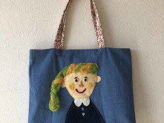 女の子かばん  デニムの画像