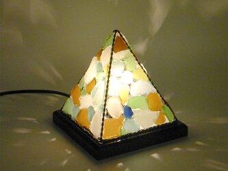 シーグラスのランプ ピラミッドランプSー31の画像