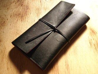 【茶芯革の手帳・ノートカバー(受注生産)】拵オリジナルの画像