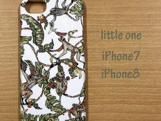 【リバティ生地】ツリー・トップス iPhone7 & iPhone8の画像