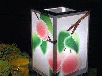 夢明かり≪桃の青春≫ 紙貼・豆形・LED 飾りライトの醍醐味を!!の画像