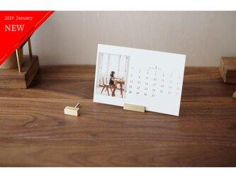 真鍮のカードスタンド 2個セット No16の画像