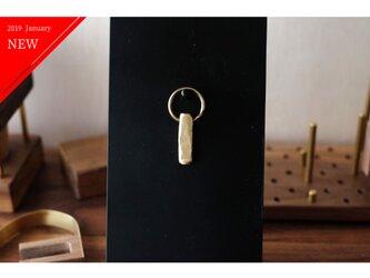 真鍮のキーホルダー/キーリング No13の画像