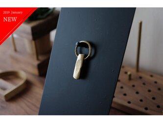 真鍮のキーホルダー/キーリング No14の画像