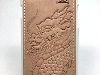 龍の iPhoneレザーカバー(iPhone7・8対応)No.403の画像