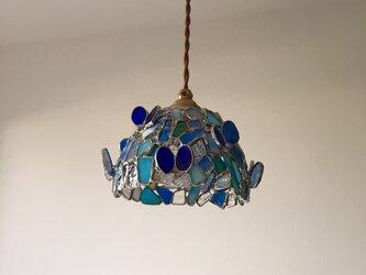 『ロマンティックナイト』ブルー×パピヨン ガラス BayViewの画像