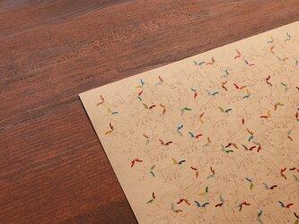 「トナカイくん」のデザインペーパーの画像