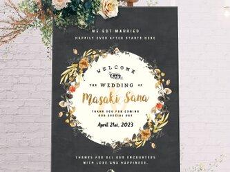 【Old Fashion】ウェルカムボード 結婚式 weddingの画像